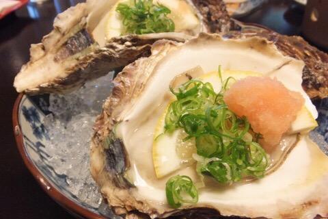 夏の旅行記その2:岩井温泉で岩牡蠣とあわびを堪能