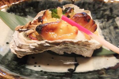 天然岩牡蠣 夏輝の味噌焼き