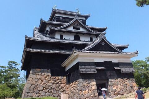 夏の旅行記その4:足立美術館、松江城と出雲大社