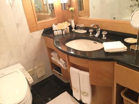 帝国ホテルのバスルーム