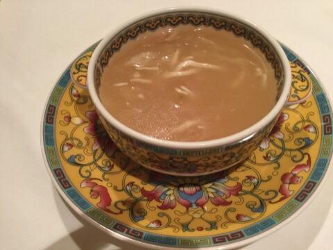 ふかひれスープ 北京スタイル