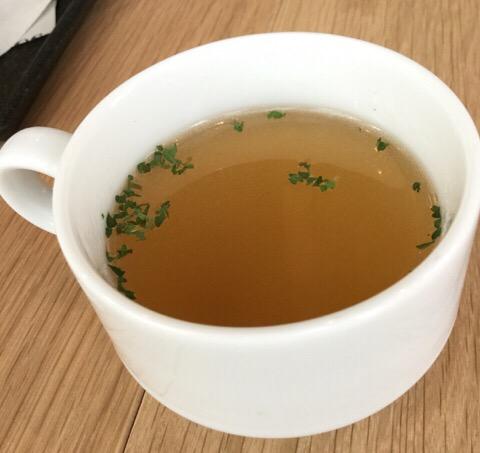 生姜のスープ