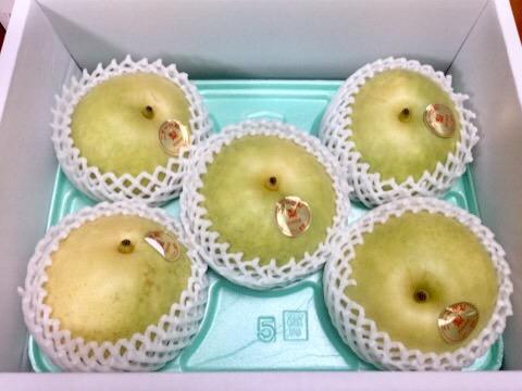 二十一世紀梨(21世紀梨)を鳥取県米子市へのふるさと納税でもらいました