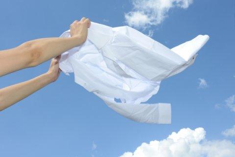 洗濯物を干すイメージ