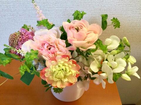 ピヨママさんにいただいた花束