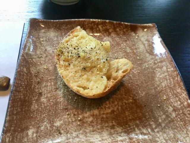 ステーキの店徳庵 本日のブルスケッタ