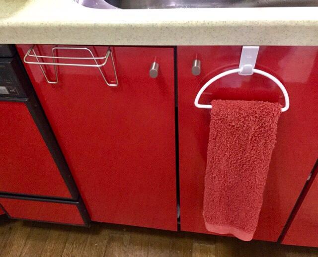 キッチンのタオル