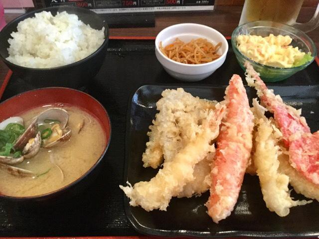 天ぷら大吉(堺魚市場内)のランチ松定食