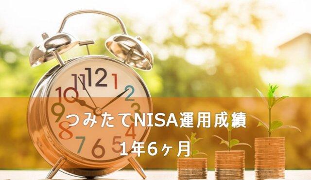 つみたてNISA運用成績1年6ヶ月