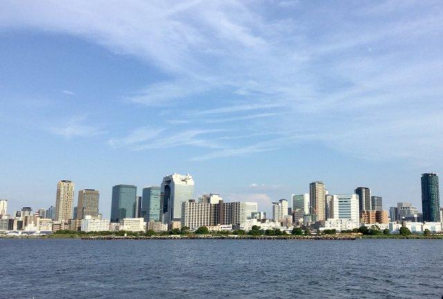 なにわ淀川花火大会 開演前のようす