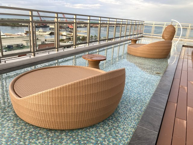 THIRD石垣島 朝のルーフトップテラス