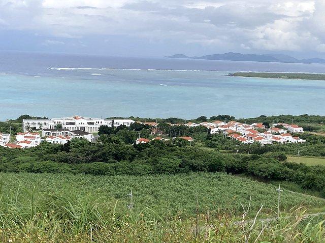 小浜島西大岳からの眺め