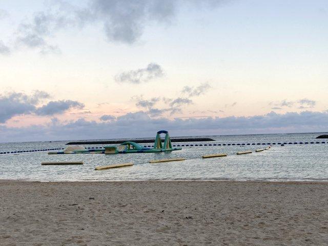 夕方のマエサトビーチ