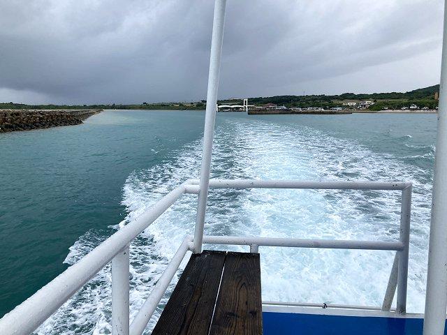 シュノーケルボートから見た海