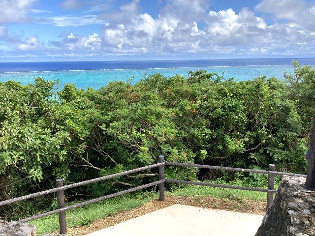 玉取崎展望台からの眺め