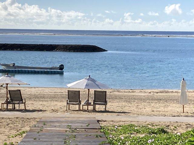朝のマエサトビーチ