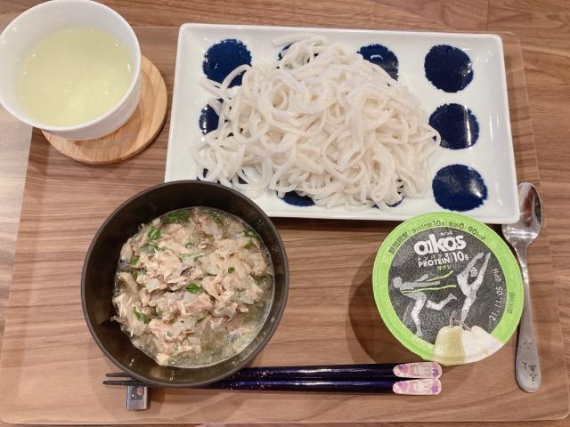 サバのつけ麺